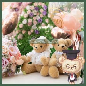 【 AB006 】Artist Bear - Wedding Bears ( 婚禮泰迪 )