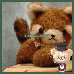 【 AB009 】Artist Bear - SnowWhite RedPanda ( 雪狸 )